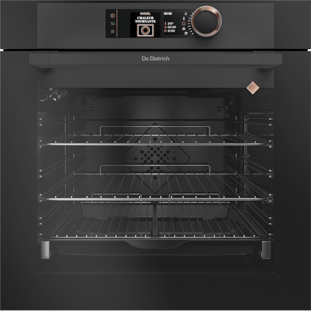 De Dietrich DOP7350A Built In Electric Single Oven - Black - A+ Rated - DOP7350A_BK - 1