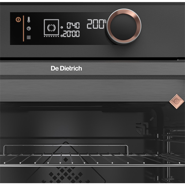 De Dietrich DOP7350A Built In Electric Single Oven - Black - DOP7350A_BK - 3