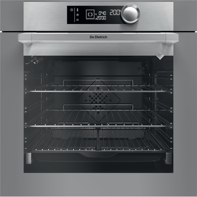 De Dietrich DOP7350G Built In Electric Single Oven - Grey - A+ Rated - DOP7350G_GY - 1