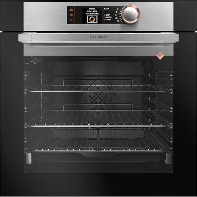 De Dietrich DOP7574X Built In Electric Single Oven - Platinum - A+ Rated - DOP7574X_PL - 1