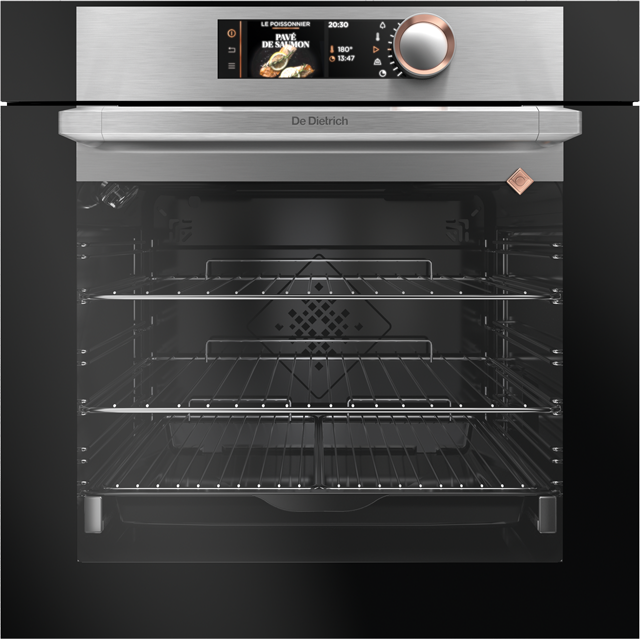 De Dietrich DOP7785X Built In Electric Single Oven - Platinum - A+ Rated - DOP7785X_PL - 1