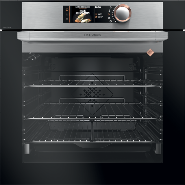 De Dietrich DOP8785X Built In Electric Single Oven - Platinum - DOP8785X_PL - 1
