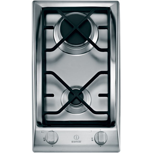 Indesit Prime DP2GSIX 29cm Gas Hob - Stainless Steel - DP2GSIX_SS - 1