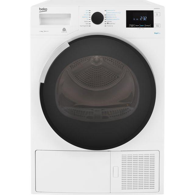 Beko DPHR8PB561W Free Standing Condenser Tumble Dryer in White