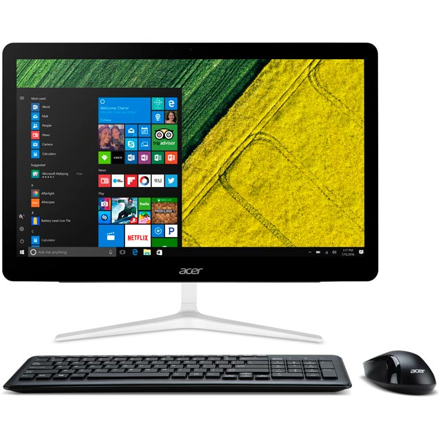 "Acer Aspire Z24-880 23.8"" All In One - Black / Silver"