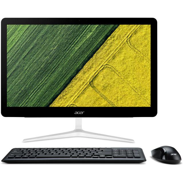 Acer DQ.B8VEK.010 Desktop Pc in Black / Silver