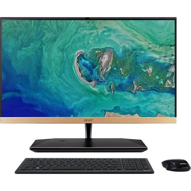 "Acer All In One 23.8"" Intel® Core™ i5 8GB RAM - Gold"