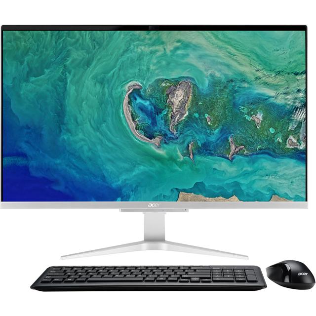 Acer DQ.BCNEK.004 Desktop Pc in Silver / Black