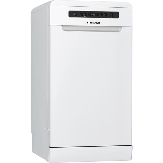Indesit DSFC3M19UK Slimline Dishwasher - White - DSFC3M19UK_WH - 1