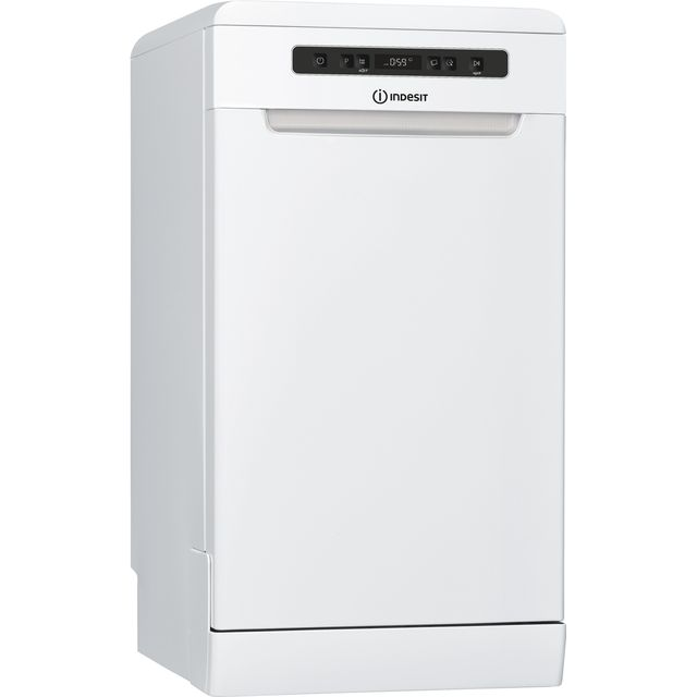 Indesit DSFC3M19UK Slimline Dishwasher - White - A+ Rated