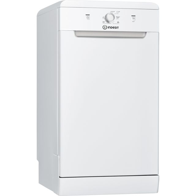 Indesit DSFE1B10UK Slimline Dishwasher - White - A+ Rated