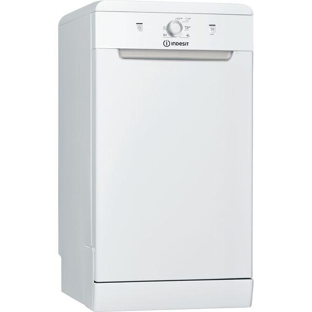 Indesit DSFE1B10UKN Slimline Dishwasher - White - A+ Rated