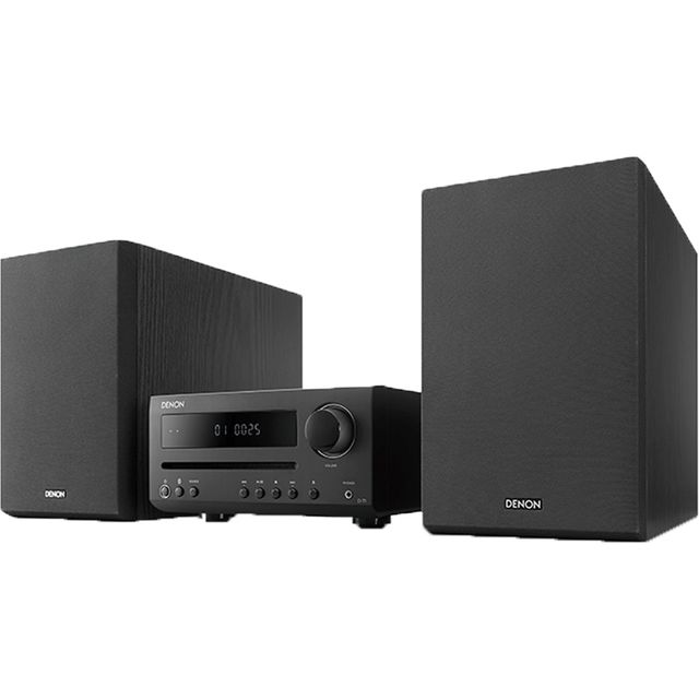 Image of Denon DT1BKE2GB 30 Watt Hi-Fi System with Bluetooth - Black