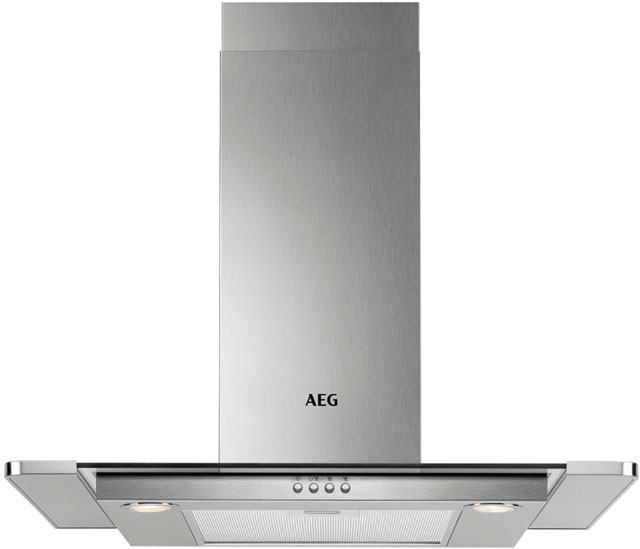 AEG 60 cm Chimney Cooker Hood - Stainless Steel - C Rated