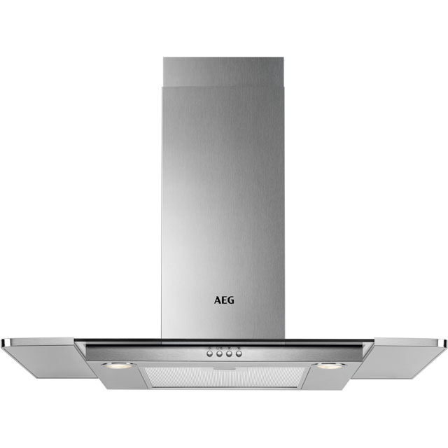 AEG DTB3651M 60 cm Chimney Cooker Hood - Stainless Steel - B Rated - DTB3651M_SS - 1