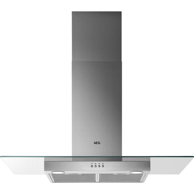 AEG DTB3954M 90 cm Chimney Cooker Hood - Stainless Steel - C Rated