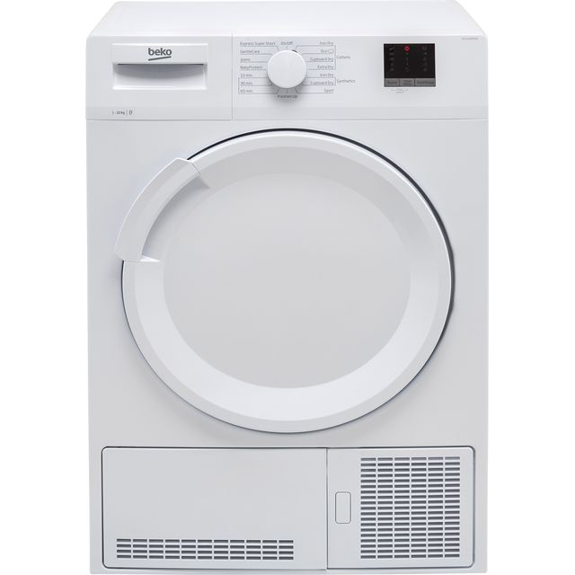 Beko DTLC100051W 10Kg Condenser Tumble Dryer - White - B Rated