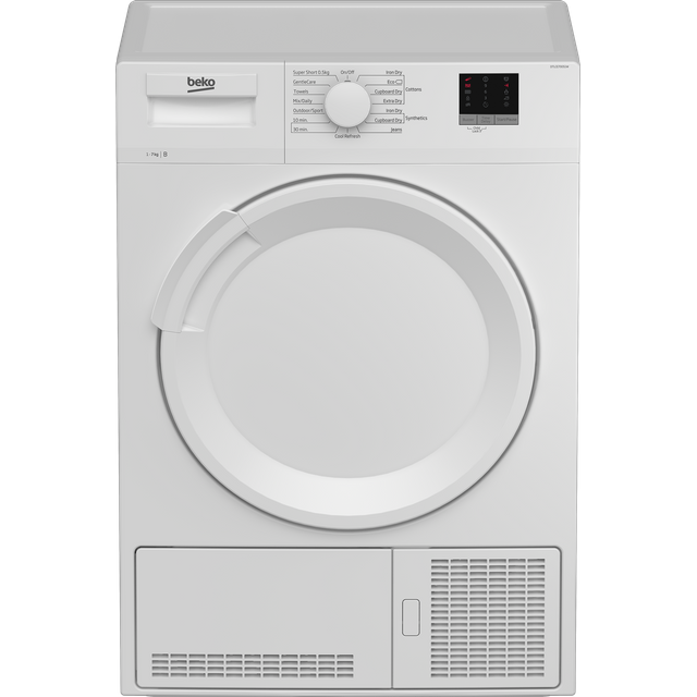 Beko DTLCE70051W 7Kg Condenser Tumble Dryer - White - B Rated - DTLCE70051W_WH - 1