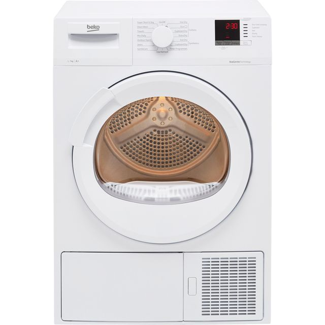 Beko DTLP71151W 7Kg Heat Pump Tumble Dryer - White - A+ Rated