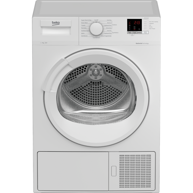 Beko DTLP71151W 7Kg Heat Pump Tumble Dryer - White - A+ Rated - DTLP71151W_WH - 1