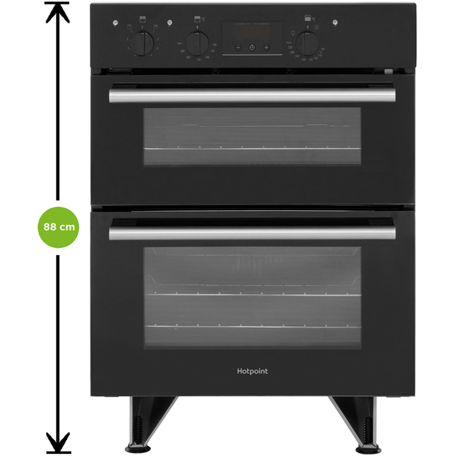 Hotpoint Class 2 DU2540WH Built Under Electric Double Oven - White - DU2540WH_WH - 3
