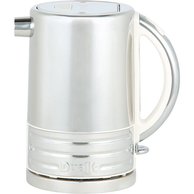 Dualit Architect 72923 Kettle - Canvas White / Stainless Steel