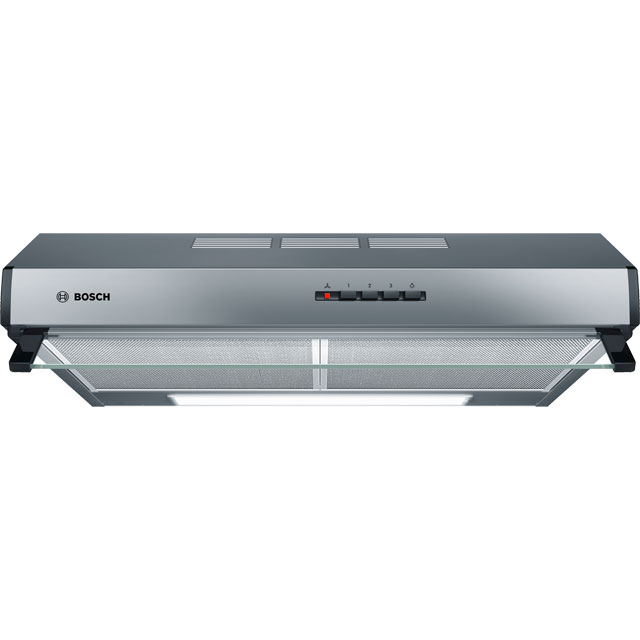 Bosch Serie 4 60 cm Canopy Cooker Hood - Stainless Steel - D Rated