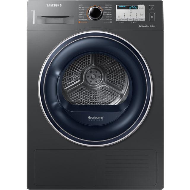 Samsung DV5000M DV80M50133X Free Standing Condenser Tumble Dryer in Graphite