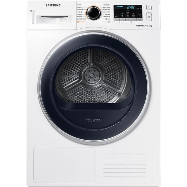 Samsung DV5000M DV80M5013QW Free Standing Condenser Tumble Dryer in White