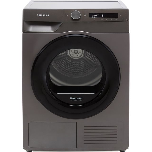 Samsung Series 5+ OptimalDry� DV80T5220AN Wifi Connected 8Kg Heat Pump Tumble Dryer - Graphite - A+++ Rated