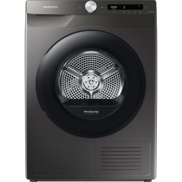 Samsung DV5000T DV80T5220AN Wifi Connected 8Kg Heat Pump Tumble Dryer - Graphite - A+++ Rated
