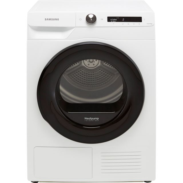 Samsung Series 5+ OptimalDry� DV80T5220AW Wifi Connected 8Kg Heat Pump Tumble Dryer - White - A+++ Rated
