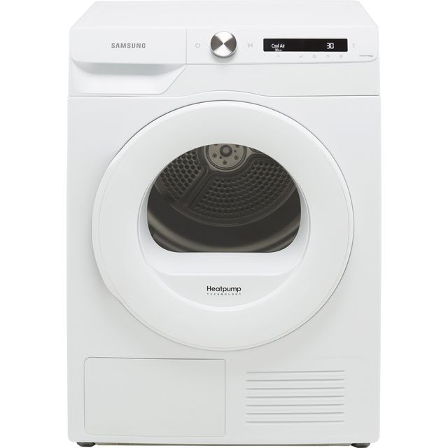 Samsung Series 5+ OptimalDry™ DV80T5220TW Wifi Connected 8Kg Heat Pump Tumble Dryer - White - A+++ Rated