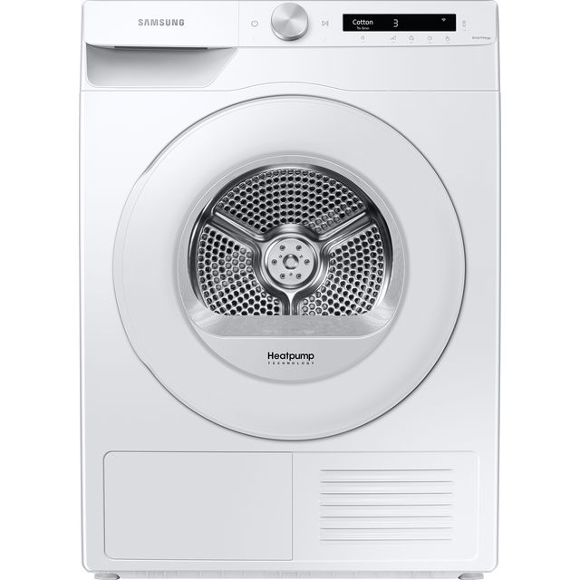 Samsung Series 5+ OptimalDry™ DV80T5220TW Heat Pump Tumble Dryer - White
