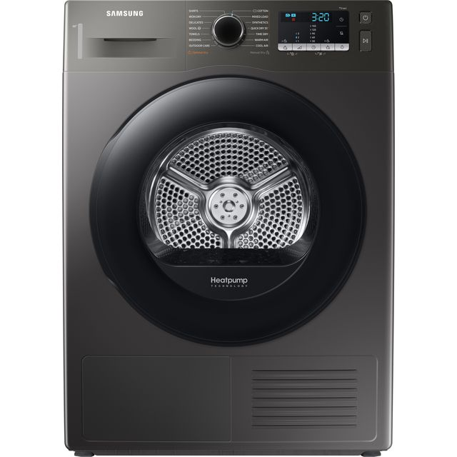 Samsung DV5000T DV80TA020AX 8Kg Heat Pump Tumble Dryer - Graphite - A++ Rated