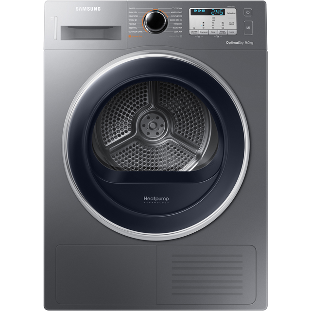 Samsung 9Kg Heat Pump Tumble Dryer - Graphite - A++ Rated
