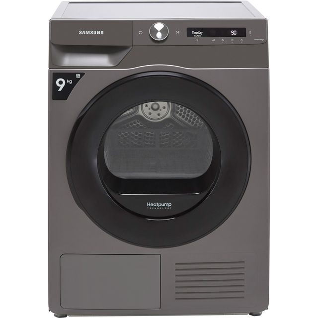 Samsung Series 5+ OptimalDry� DV90T5240AN Wifi Connected 9Kg Heat Pump Tumble Dryer - Graphite - A+++ Rated