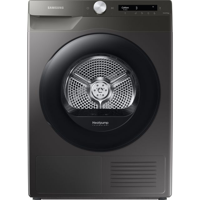Samsung DV5000T DV90T5240AN Wifi Connected 9Kg Heat Pump Tumble Dryer - Graphite - A+++ Rated