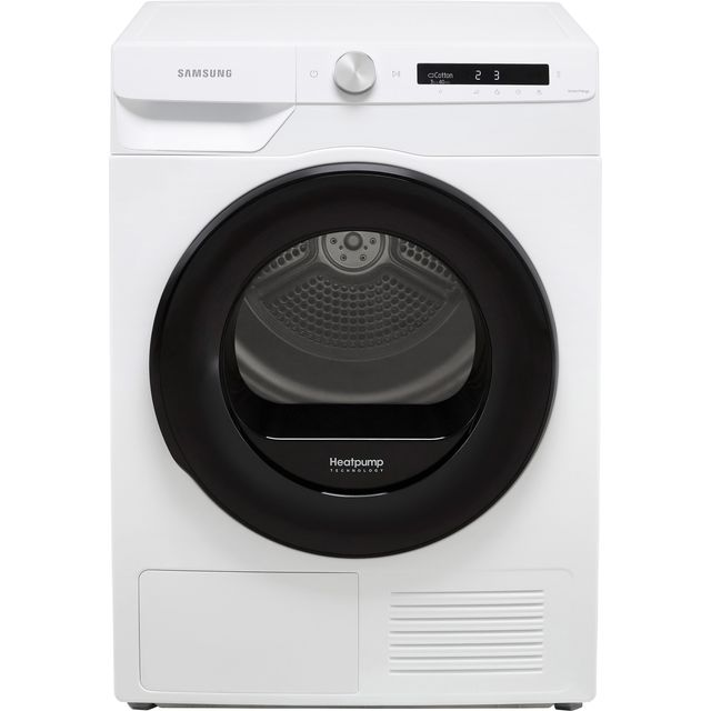 Samsung Series 5+ OptimalDry™ DV90T5240AW Heat Pump Tumble Dryer - White