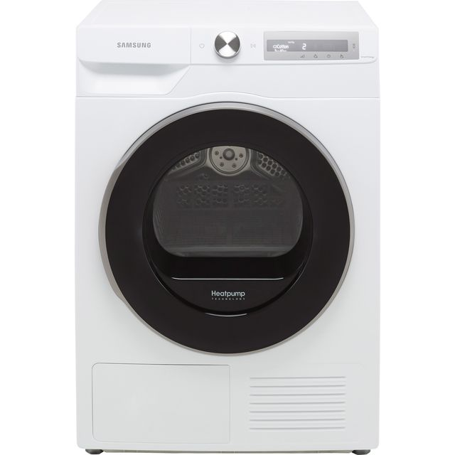 Samsung Series 6 OptimalDry� DV90T6240LH Wifi Connected 9Kg Heat Pump Tumble Dryer - White - A+++ Rated