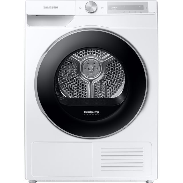 Samsung DV5000T DV90T6240LH Wifi Connected 9Kg Heat Pump Tumble Dryer - White - A+++ Rated - DV90T6240LH_WH - 1