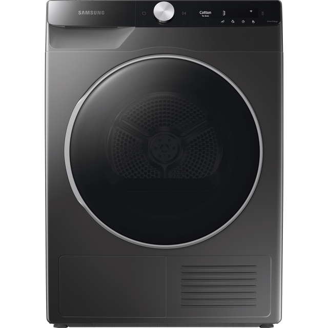 Samsung DV8000 DV90T8240SX Wifi Connected 9Kg Heat Pump Tumble Dryer - Graphite - A+++ Rated