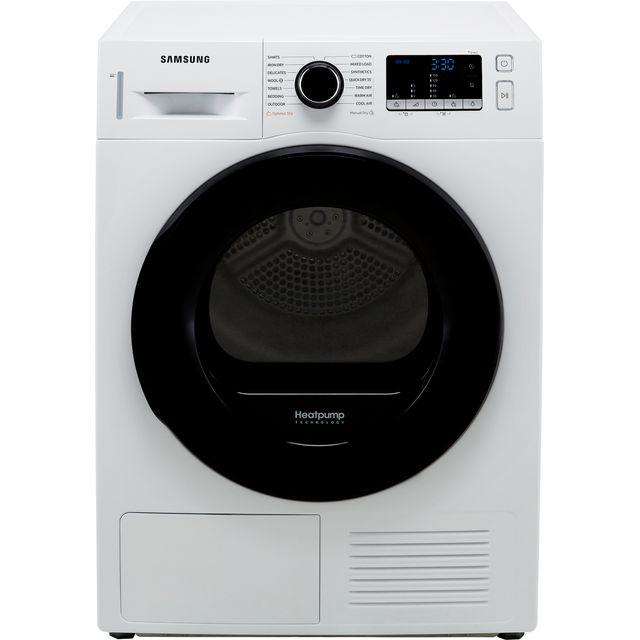 Samsung Series 5 OptimalDry� DV90TA040AE 9Kg Heat Pump Tumble Dryer - White - A++ Rated