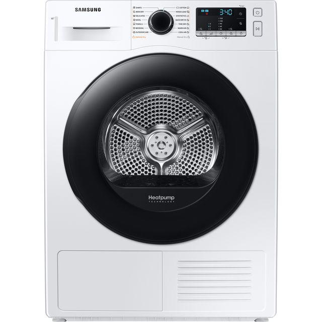 Samsung DV90TA040AE 9Kg Heat Pump Tumble Dryer - White - A++ Rated