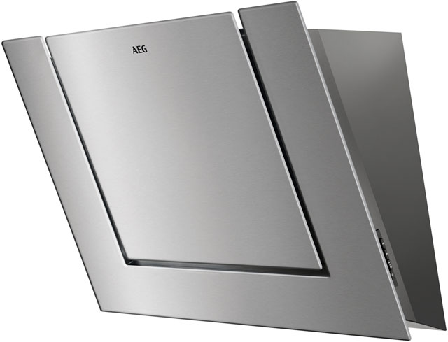 AEG DVB3850M 80 cm Chimney Cooker Hood - Stainless Steel - C Rated - DVB3850M_SS - 1