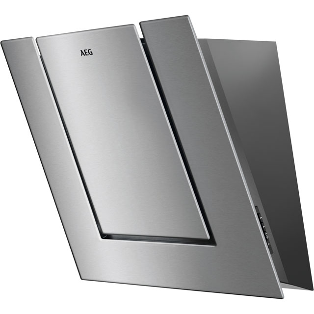 AEG DVB4550M 55 cm Chimney Cooker Hood - Stainless Steel - B Rated - DVB4550M_SS - 1