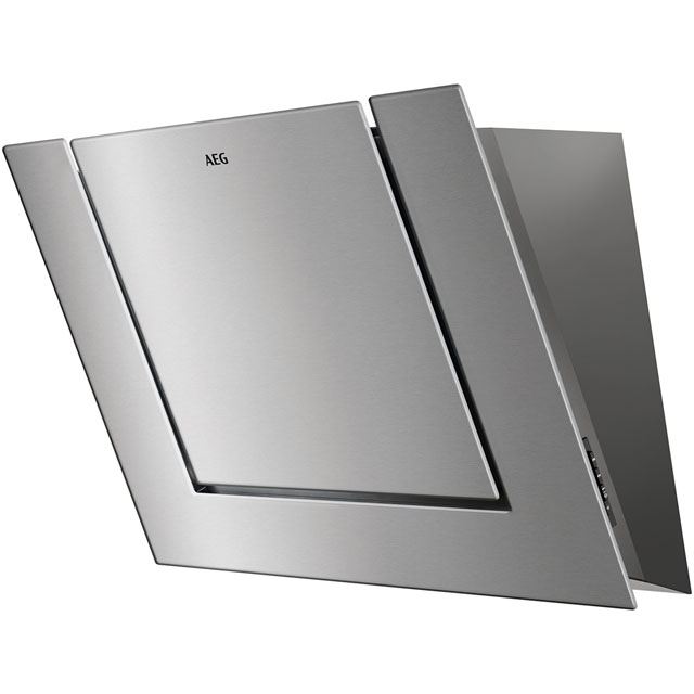 AEG DVB4850M 80 cm Chimney Cooker Hood - Stainless Steel - B Rated - DVB4850M_SS - 1