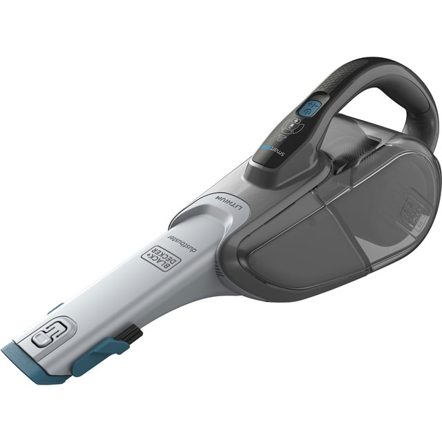 Black & Decker Cordless dustbuster® Hand Vacuum with Smart Tech DVJ325BF-GB Handheld Vacuum Cleaner in Titanium