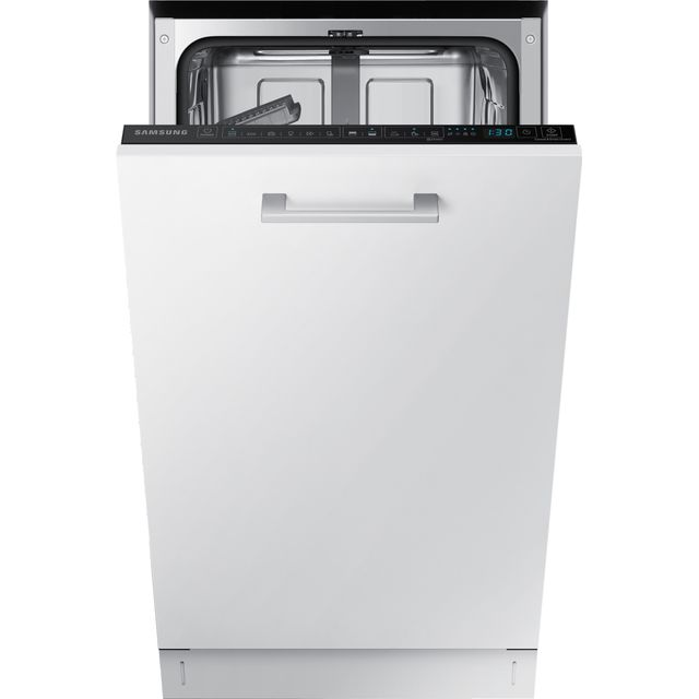 Samsung DW50R4060BB Fully Integrated Slimline Dishwasher - Black Control Panel with Fixed Door Fixing Kit - A++ Rated - DW50R4060BB_BK - 1
