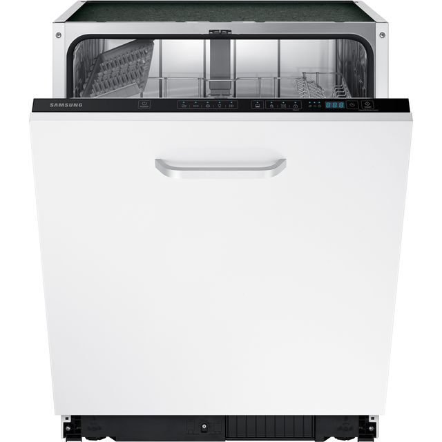 Samsung DW60M5050BB Fully Integrated Standard Dishwasher - Black Control Panel with Fixed Door Fixing Kit - A+ Rated - DW60M5050BB_BK - 1